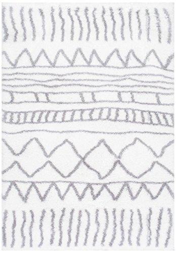Soft Plush Geometric Drawings Rugs