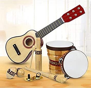 Juguetes de madera para niños, instrumentos musicales para niños ...