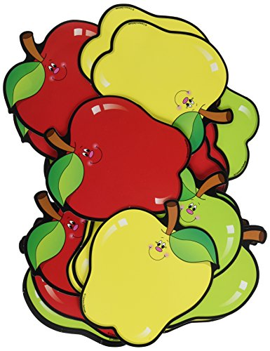 Apple Bulletin Board - Carson Dellosa Die-Cut Shapes Apples (5555)