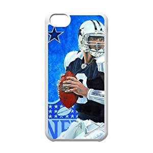 Dallas Cowboys iPhone 5c Cell Phone Case White 218y3-190600