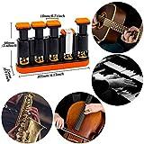 Finger Strengthener,Guitar Beginner Exercier,Finger trainer,Hand Grip Strength Trainer for Athletes,Musicians & Physical Therapy