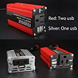Car 200W Power Inverter 12v 220v Converter DC Portable
