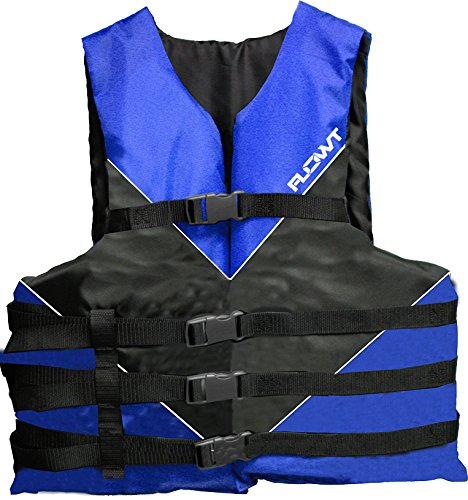 Vest Type Iii Belt (Flowt 40301-UNV Type III Multi-Sport Life Vest (Blue, Universal)