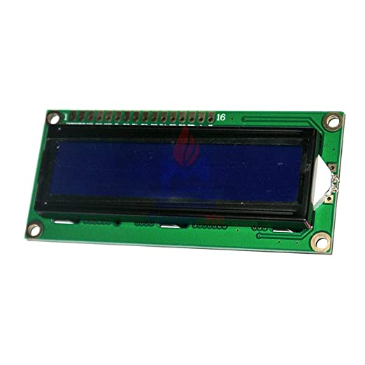 Details about  /HiLetgo 2pcs DC3.3V HD44780 1602 16x2 Character LCD Display Adapter Module Bl...