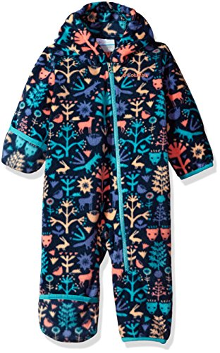Columbia Baby Boys' Snowtop Ii Bunting, Collegiate Navy Critters, 6-12 Months