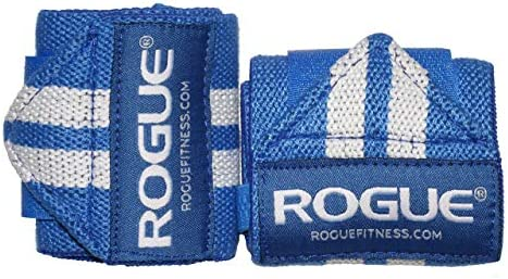 Rogue Fitness Wrist Wraps Available in Multiple Colors Blue, 12