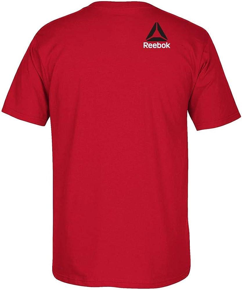 Reebok UFC Mens Red Official Logo T-Shirt CB1460