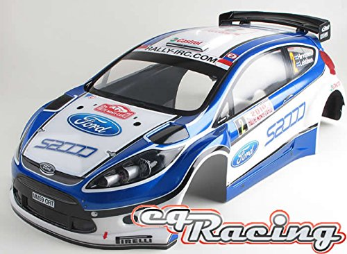 WRC Ford Fiesta DRX cpl. Body FIX and Fertig KDR