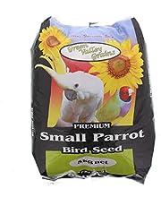 Small Parrot Seed Mix 5kg Bird Food Green Valley Grey Sunflower Oats Pannicum