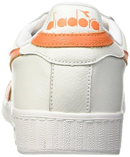 0 Da Bianco Nero Alto Gioco Eur Tropicale c5937 Diadora Scarpa 42 Multicolore Unisex Adulti L Arancio Tennis Cerata qtxnAP1z