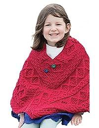 Irish Child's Wool Poncho