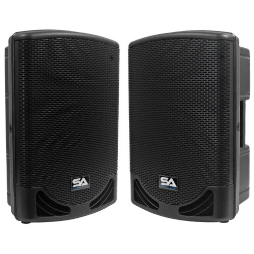 Seismic Audio - MainShock-12-Pair - Pair of Powered 2-Way 12