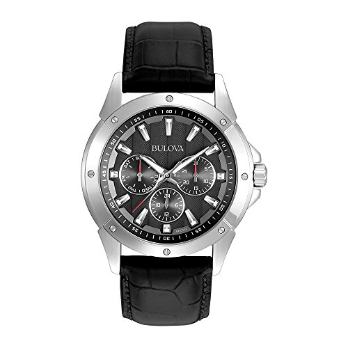 bulova-mens-96c113-stainless-steel-watch-with-black-leather-strap