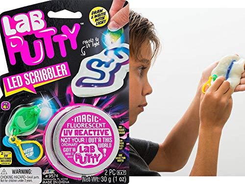 JA-RU Lab Putty Assorted Styles (Pack of 5) People + UV + Magnetic + Heat + Crystal | C1 by JA-RU (Image #3)
