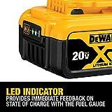 DEWALT 20V MAX Battery, Lithium Ion, 4-Ah