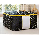 Okayji Fabric Storage Organizer Bag, Black