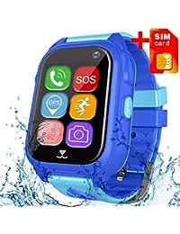 [Free SIM Card] Kids Smart Watch Phone GPS Tracker...