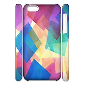 C-Y-F-CASE DIY Design Colourful World Pattern Phone Case For iPhone 5C