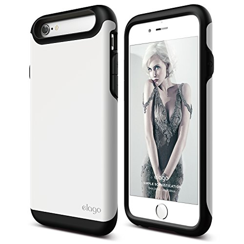 iphone-6s-case-elagor-duromatte-black-white-premium-armorheavy-shock-absorptiondual-layers-for-iphon