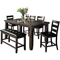 Milton Greens Stars Julianna 5Piece Dining Set, Gray