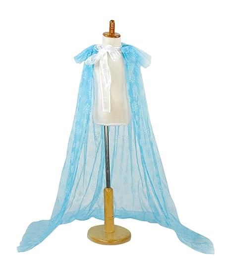 MP Costumes Frozen Inspired Elsa Blue Snowflake Cape (50u0026quot;)  sc 1 st  Amazon.com & Amazon.com: MP Costumes Frozen Inspired Elsa Blue Snowflake Cape (50 ...