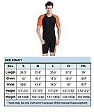 BELLOO Swimsuit for Men Design Orange