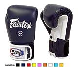 Fairtex Muay Thai Boxing Gloves BGV1 10 12 14 16 oz Black White Red Blue Pink Emerald