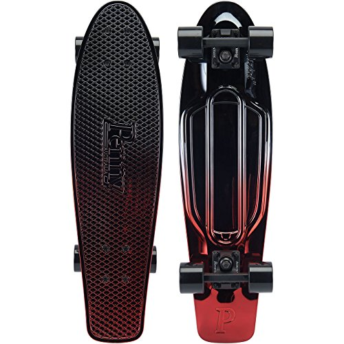 Penny Boards 27 Inch Gunmetal Red Fade Complete