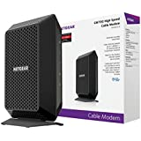 NETGEAR CM700 (32x8) DOCSIS 3.0 Cable Modem. Max download speeds of 1.4Gbps. Certified for XFINITY by Comcast, Time Warner Cable, Charter, & more (CM700)