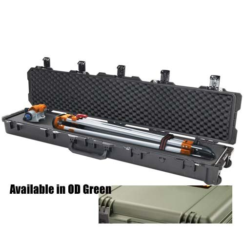 Pelican im3410 Storm Case with Foam for Rifles & Shotguns, With Wheels, Olive Drab Green   B00Y97F6B8