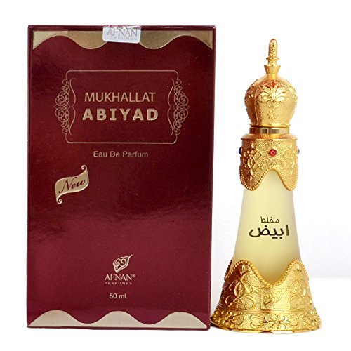 Mukhallat Abiyad Perfume Oil by Afnan 24ml by Afna…