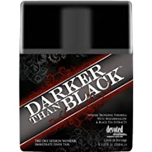Brand New -DARKER THAN BLACK-Bronzer indoor tanning bed lotion DEVOTED CREATIONS
