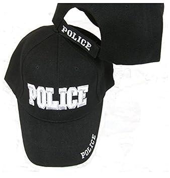 P.I.Sport N.Y. Gorra Ajustable Bordada de policía con Pelotas ...