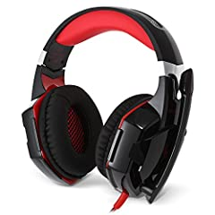 Color:RedFunction:Microphone,Noise Cancelling,Sweatproof,Voice controlMaterial:ABS,MetalModel:G2000Wearing type:Headband Application:ComputerCable Length (m):2.2mCompatible with:ComputerConnecting interface:3.5mm,USBConnecti...