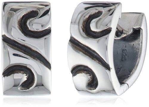 "Zina Sterling Silver ""Swirl"" H"