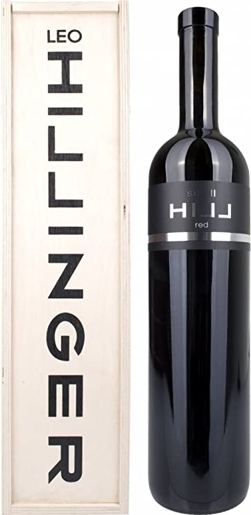 Leo Hillinger Small Hill Red Magnum Pinot Noir en Caja de Madera 2012/2014-1500 ml: Amazon.es: Alimentación y bebidas