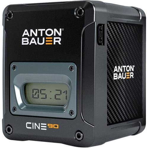 Anton Bauer CINE 90 14.4V 90Wh Gold Mount Lithium Ion Battery for Digital Cinema Cameras and Camera Stabilizer Systems by Anton Bauer