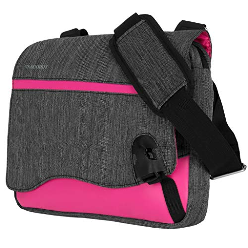 8 Inch to 10.1 Inch Tablet Shoulder Bag Business Laptop Messenger Fit HP Pro 8, Huawei Honor Pad 5 WiFi, MediaPad M5, Lenovo Tab P10, Tab M10, Tab 8, Tab 4 8, Tab E10, E8, E7