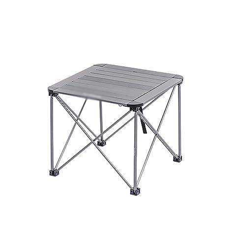 Amazon.com: ZXQZ zhuozi - Mesa rectangular con correa de ...