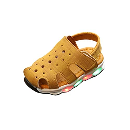 Huhua Sandals For Boys, Sandali bambini, Verde (Green), 6-12 Months