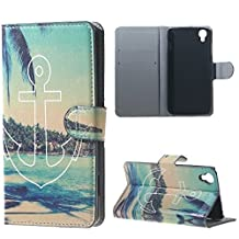 Alcatel Case, Candy House Alcatel OneTouch Idol 3 4.7 inch Case Stunning Scenery Pattern Horizontal Wallet Case Magnetic Closure Flip Cover