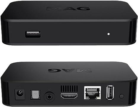 Original infomir Mag 322 IPTV Set Top Box Multi Media Player ...