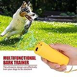 Ultrasonic Dog Repeller,Acogedor 3 in 1 Portable Anti Barking Device,Stop Barking,Handheld Dog Training