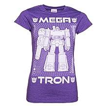 Womens Transformers Megatron Blueprint T Shirt