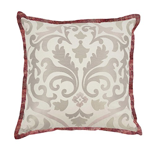 WAVERLY Fresco Flourish Decorative Pillow, 18x18, Jewel