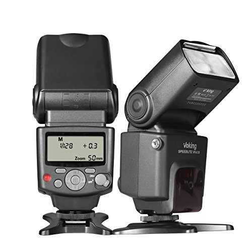 - Voking VK430 E-TTL LCD Display Speedlite Shoe Mount Flash for Canon EOS 70D 77D 80D Rebel T7i T6i T6s T6 T5i T5 T4i T3i SL2 and other Eos Digital DSLR Camera with Standard Hot Shoe Stand