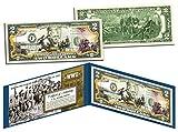 Cheap WORLD WAR II * Raising the Flag on IWO JIMA * Colorized U.S. $2 Bill WWII