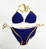Florida Gators Blue with Orange/White String Bikini (L)