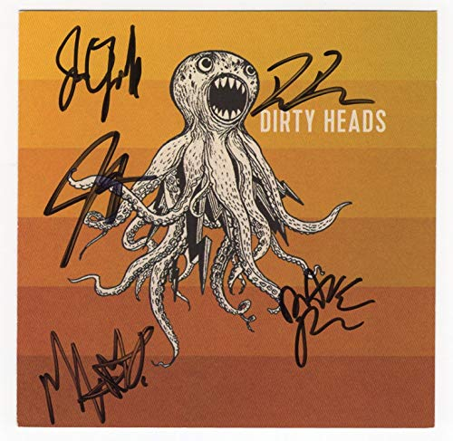 """Dirty Heads Autographed""""Dirty Heads"""" CD [CD for self-titled album - signed on cover by all five]"""