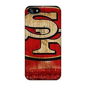 RichardBingley Apple Iphone 5/5s Shock-Absorbing Hard Cell-phone Cases Support Personal Customs High-definition San Francisco 49ers Pictures [Elo24623joUr]